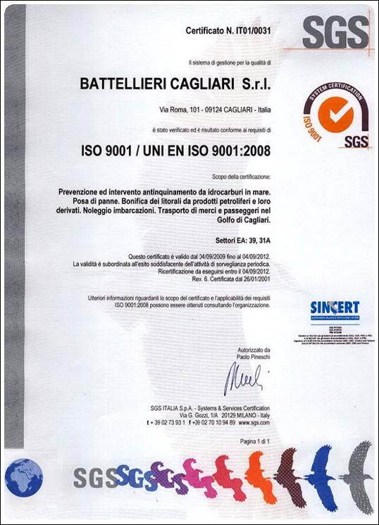certificazione qualita